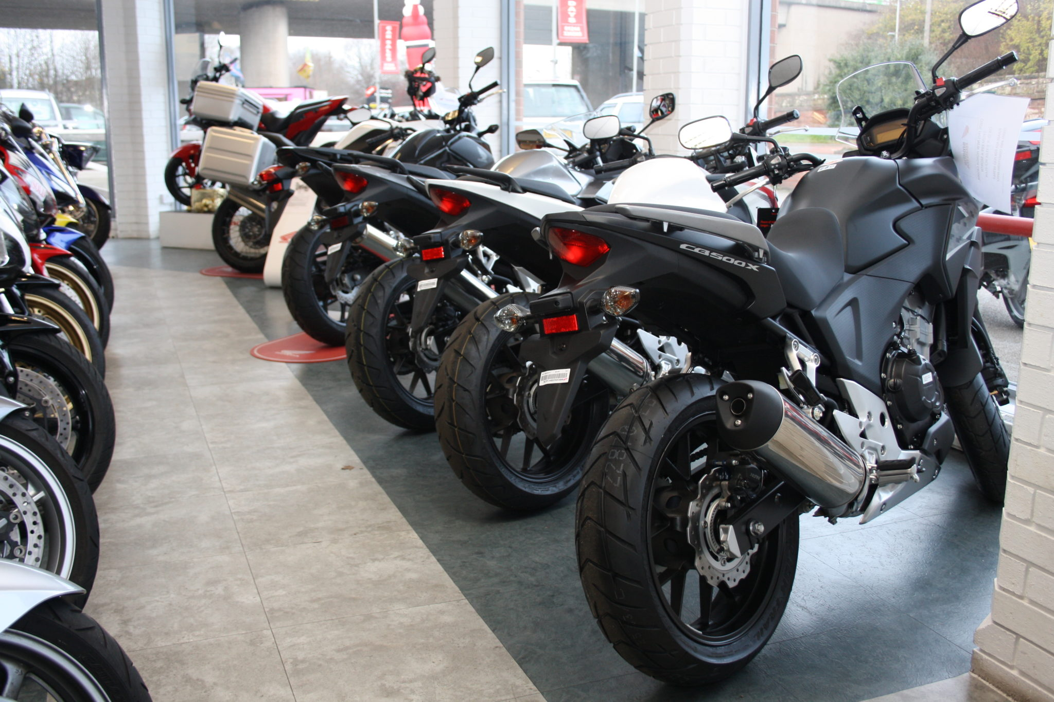 Motorcycle dealers Dec 2013