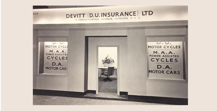 Devitt dealership shop front