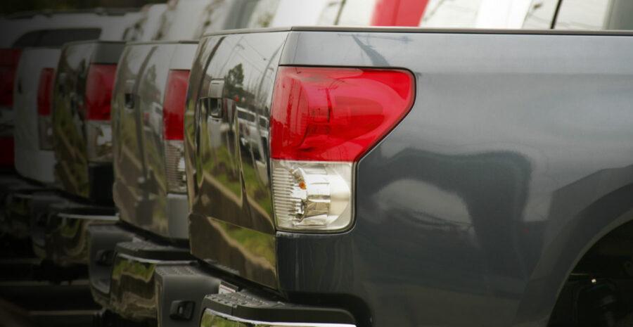 Pick-up-van