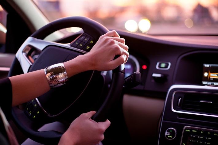 A car driver