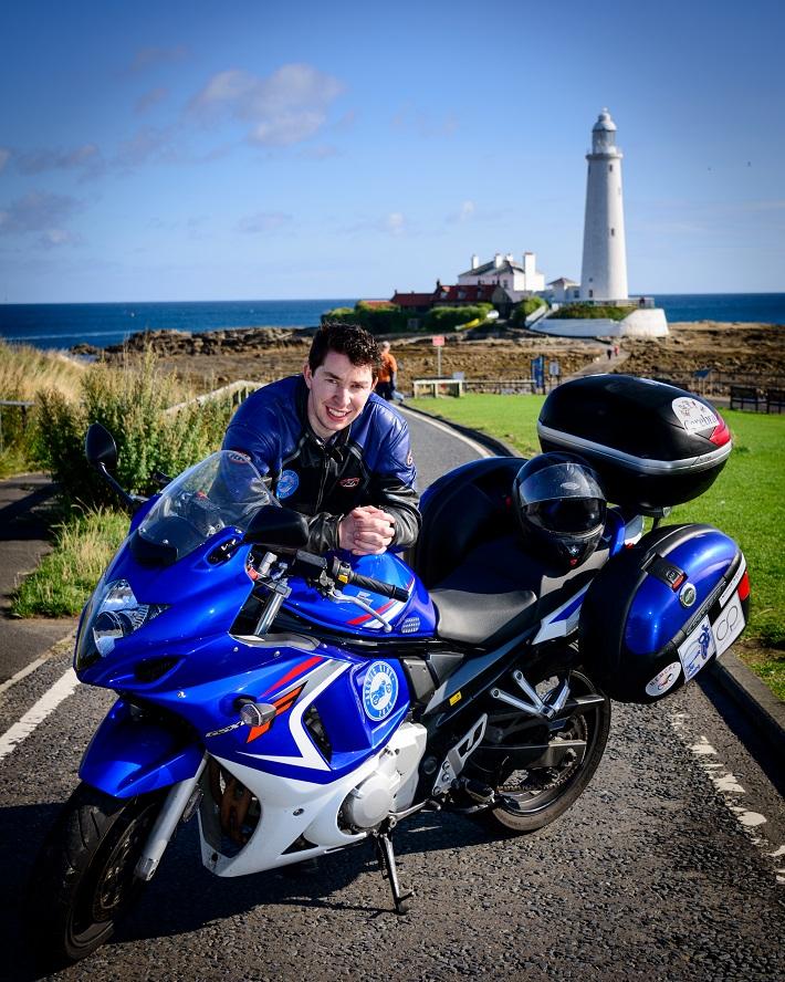 Gordon and his bike