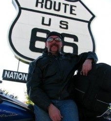 The-Grumpy-Biker-route-66-sign