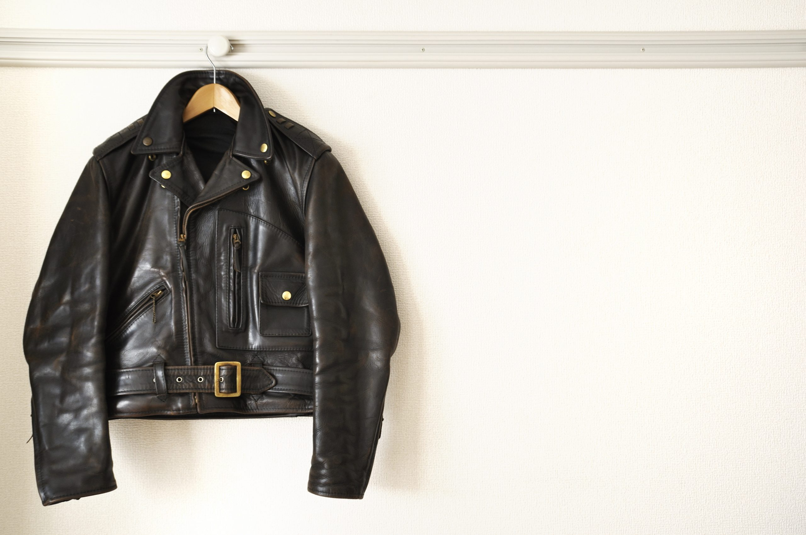 Look and feel cool in your leather jacket
