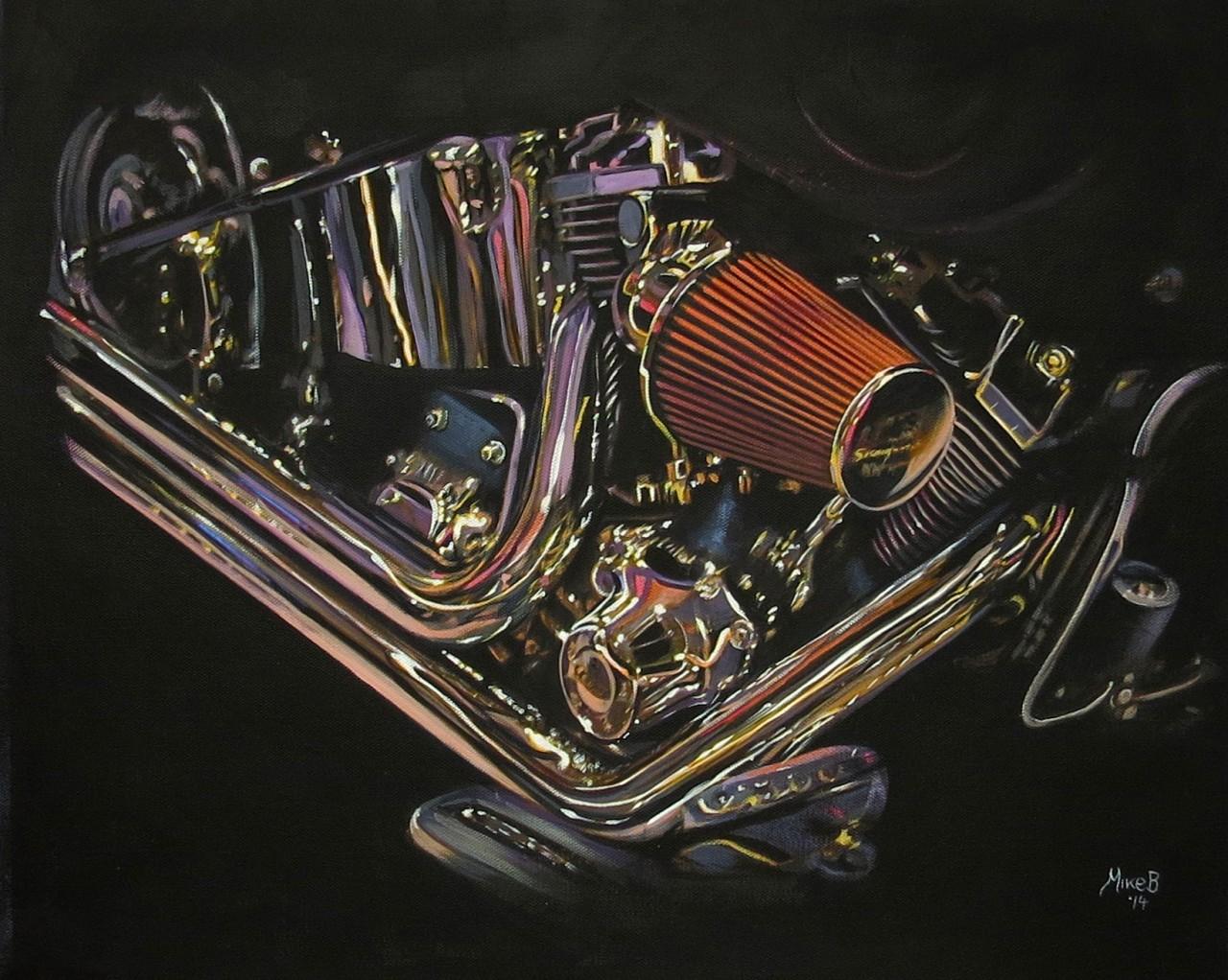 Mike Brown custom design engine
