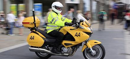 AA Fleet Motorcycle