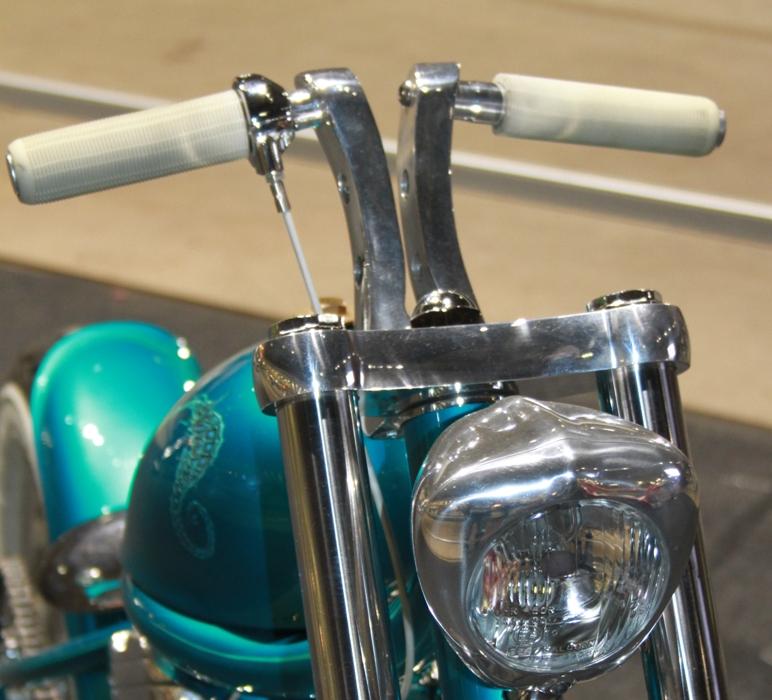 motorcycle modification Narrow Handlebars