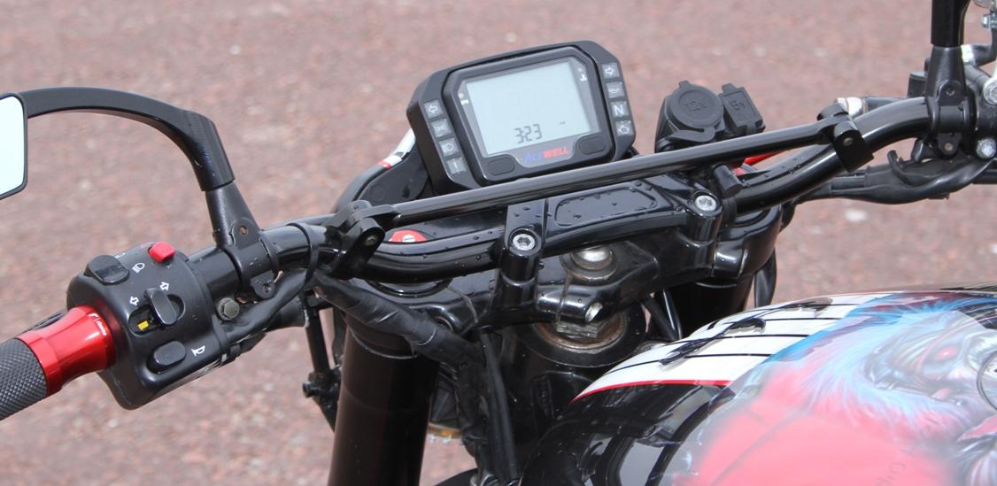 Motorcycle Modifications Yoke and bar conversion