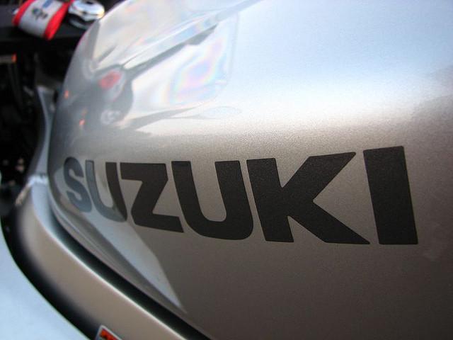 Suzuki-motorbike
