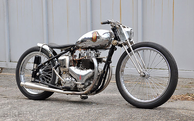 BSA A10 Golden Flash Custom
