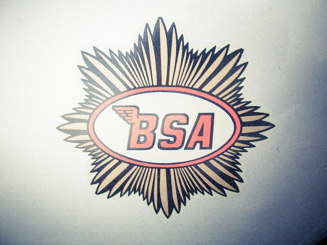 BSA gold star logo