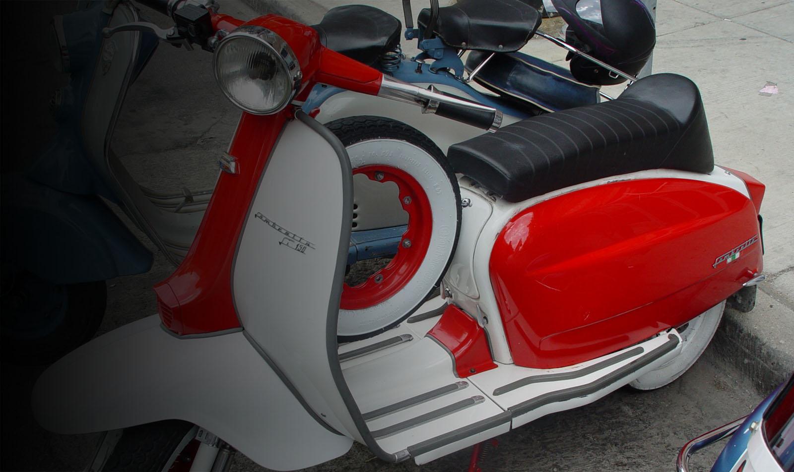 Red Lambretta