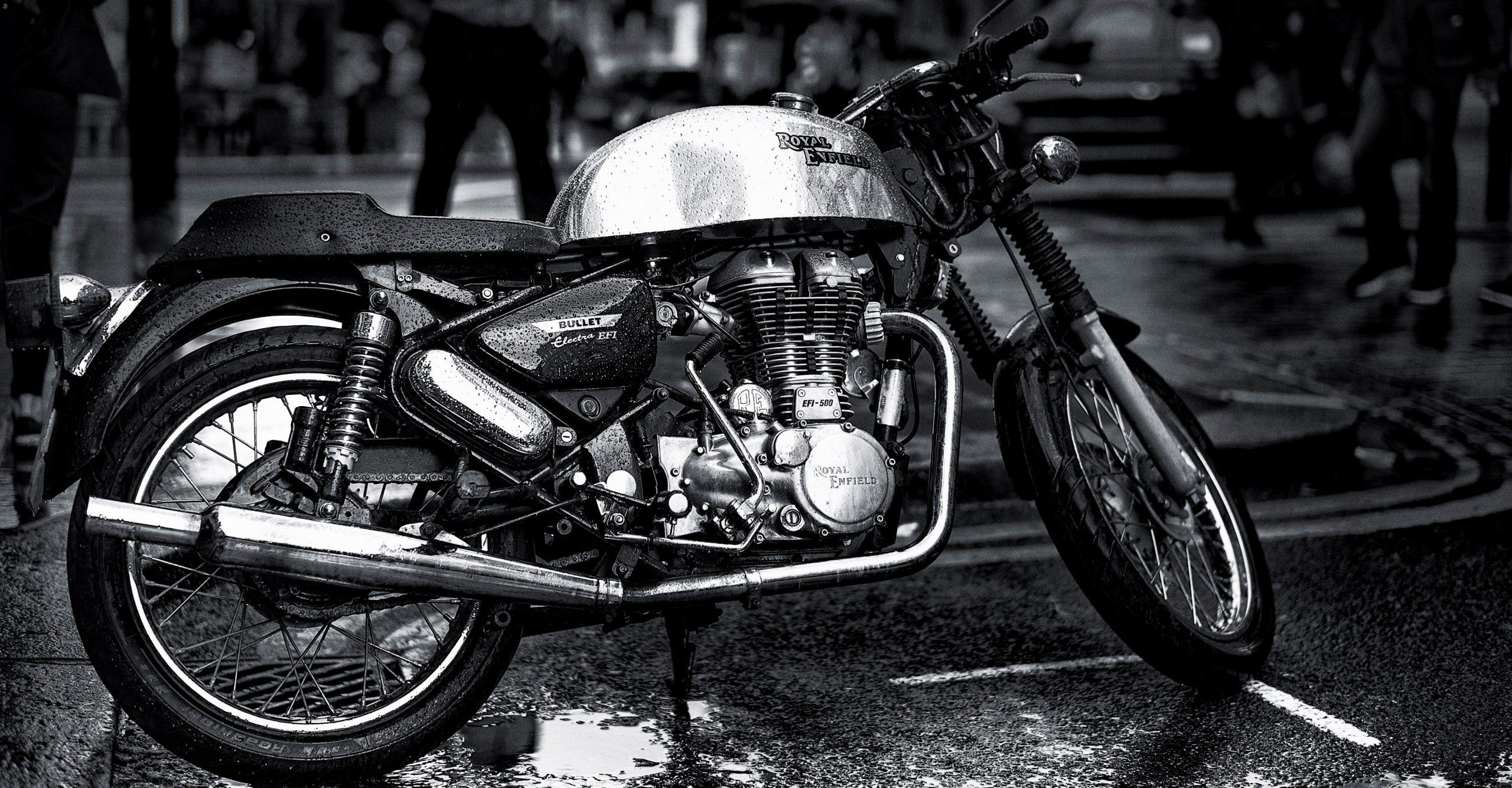 Royal Enfield motorcycle in London