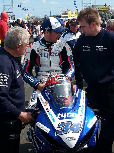 Alastair Seeley ahead of Supersport Qualifying