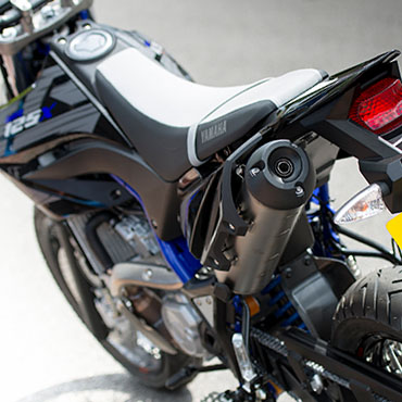 Yamaha 125 motorbike