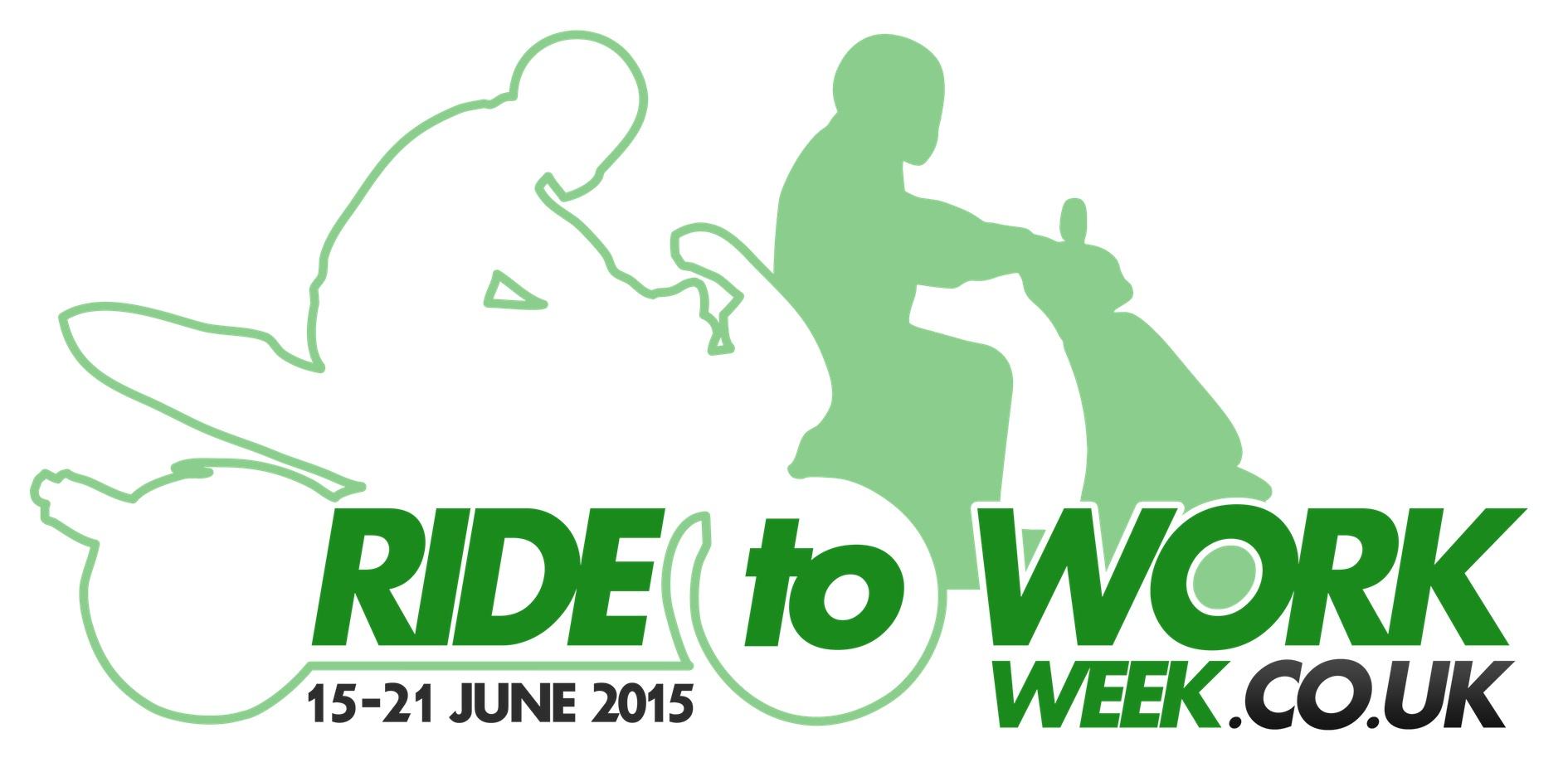 Ride to Work Week Logo