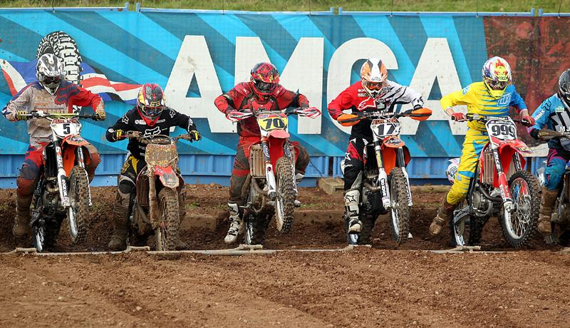 AMCA Bikes lined up