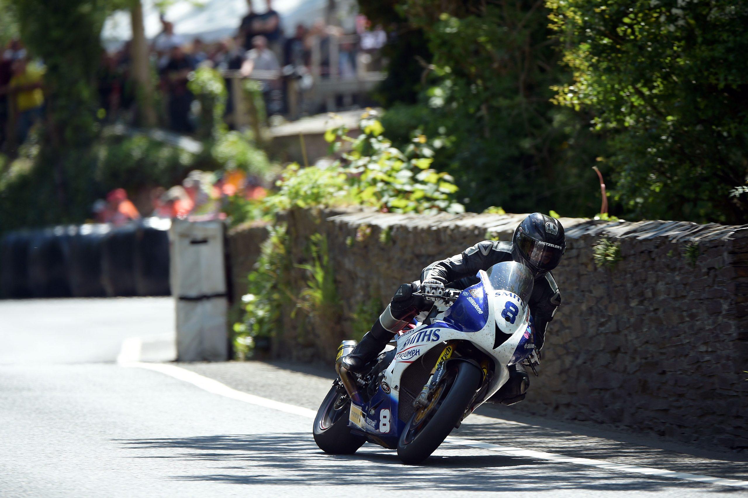 Guy Martin Smiths RacingTriumph