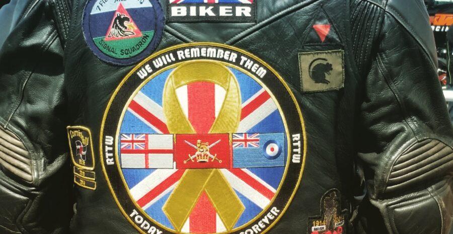 Union Jack biker jacket