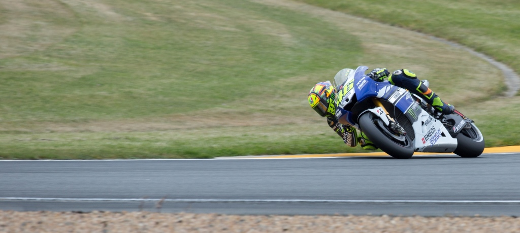 Valentino Rossi image from Corentin Foucaut on flickr