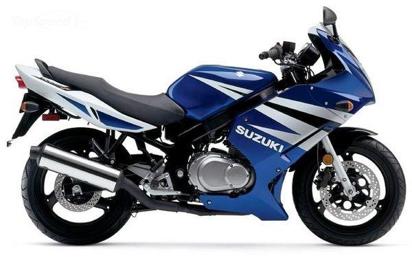 Suzuki GS500F. Credit: Suzuki
