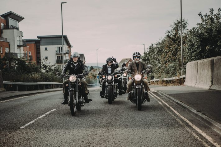 Bikers on a ride out credit Rolling Rogues