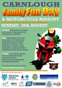 Blackbird family Fun Day & Motorcycle Rideout