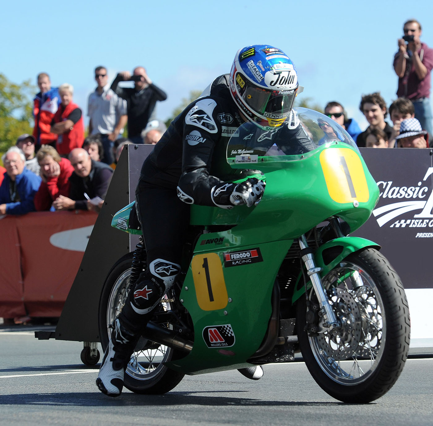 John McGuinness Classic TT