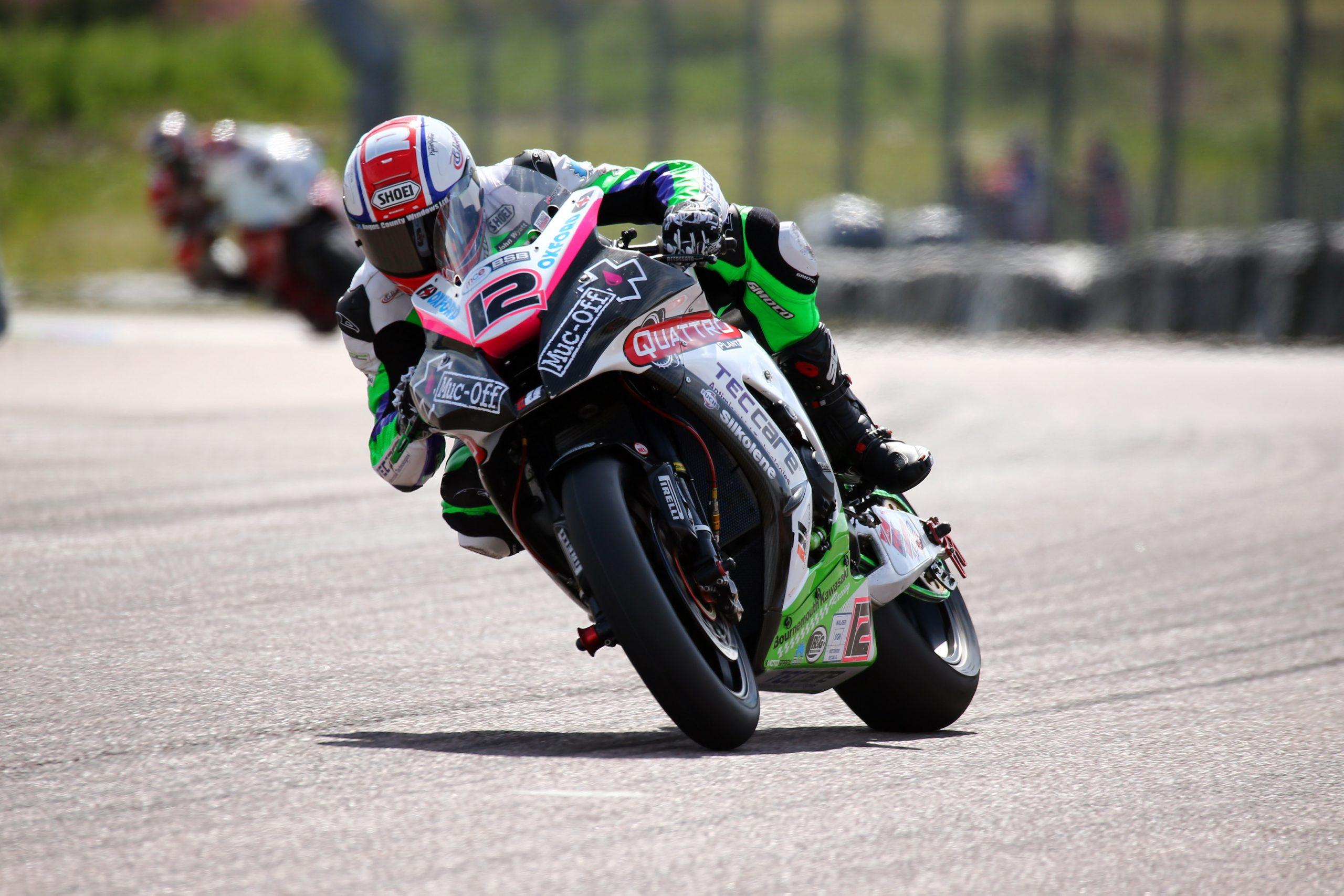 Luke Mosey 2015 British Superbike Championship Thruxton