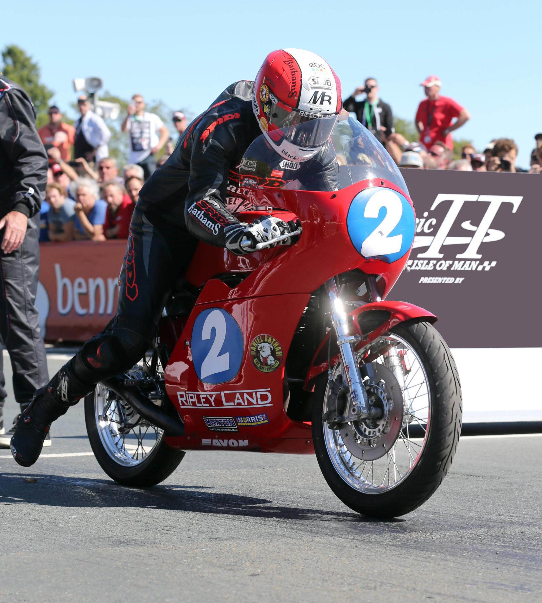 Michael Rutter 350cc Classic TT race image by Stephen Davison - Pacemaker Press International