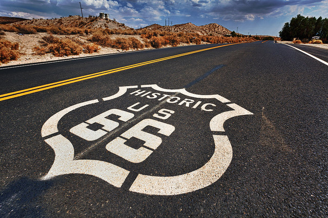 Route 66. Credit: Flickr Randy Heinitz
