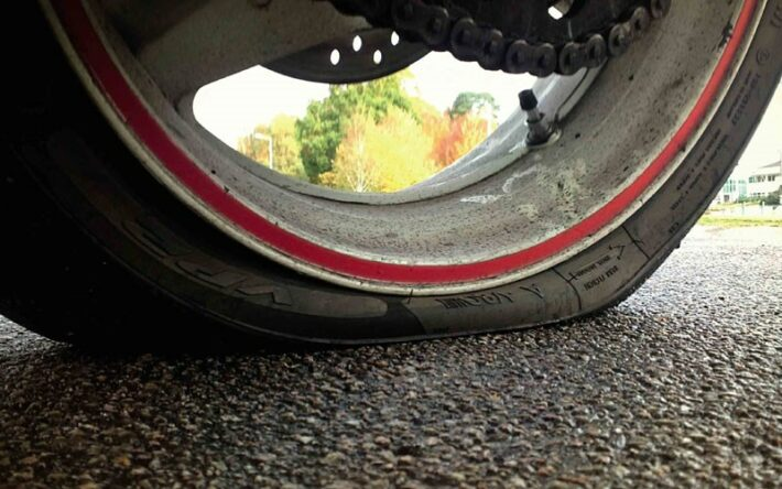 Don't be caught short with a flat tyre
