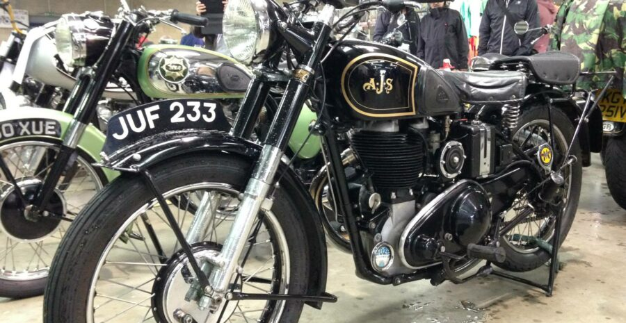 South of England Real Classic Bike Show and Jumble