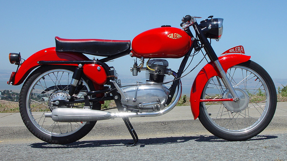 1954 Gilera 150 Sport image from Craig Howell on flickr