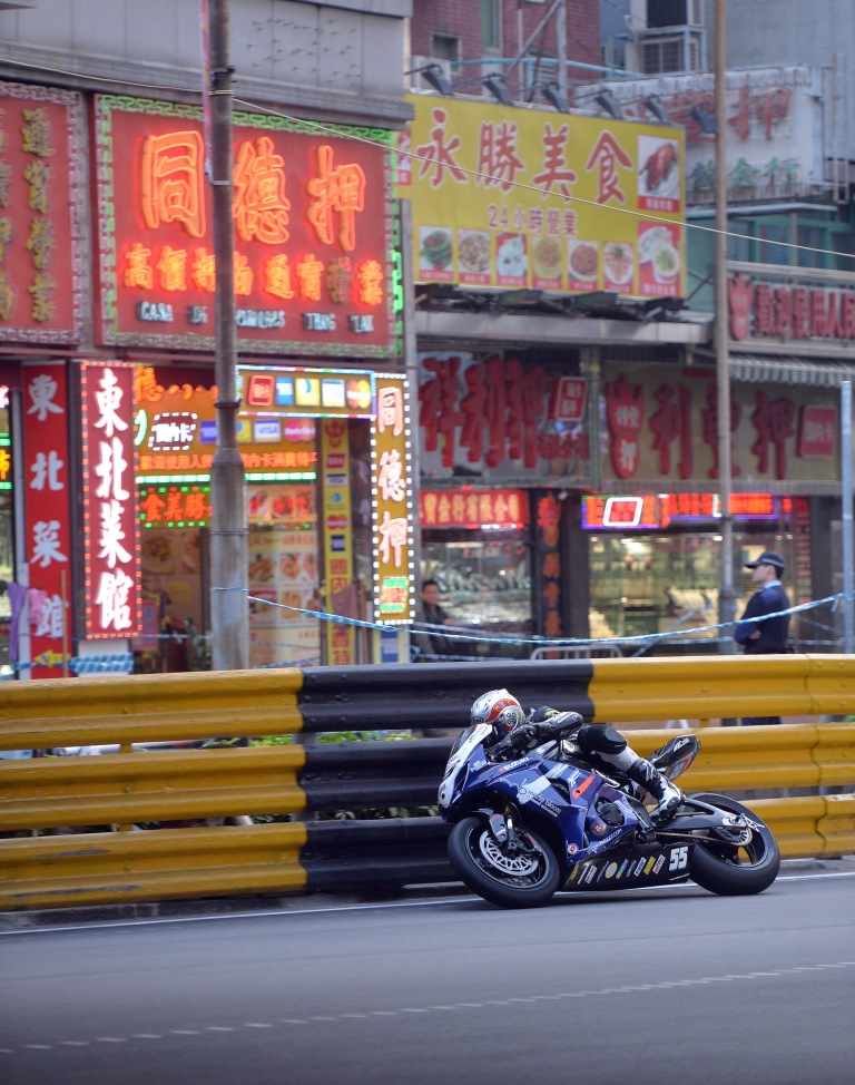 Dan Kneen - Macau 2013 image by Stephen Davison - Pacemaker Press International