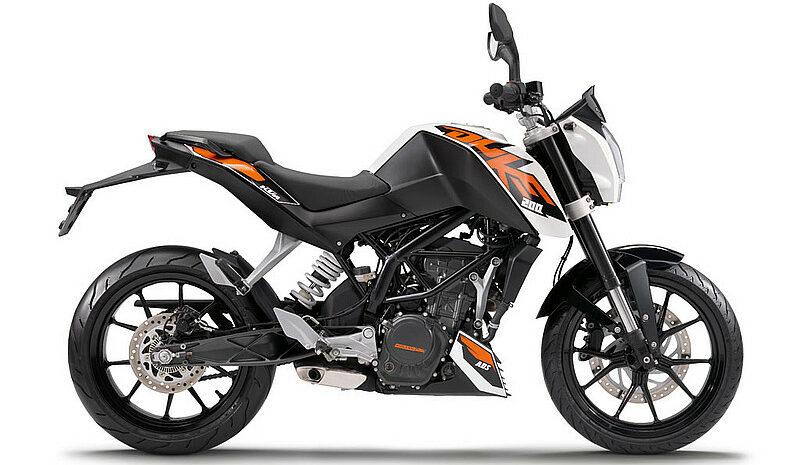 KTM 200 Duke credit KTM