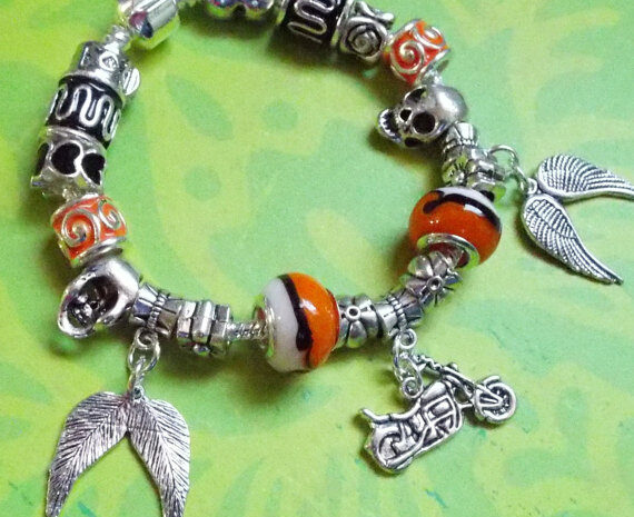 biker chic bracelet