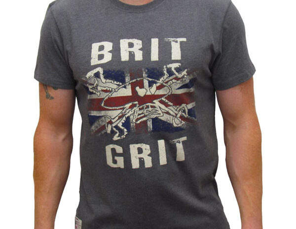 Retro Brit Grit T Shirt