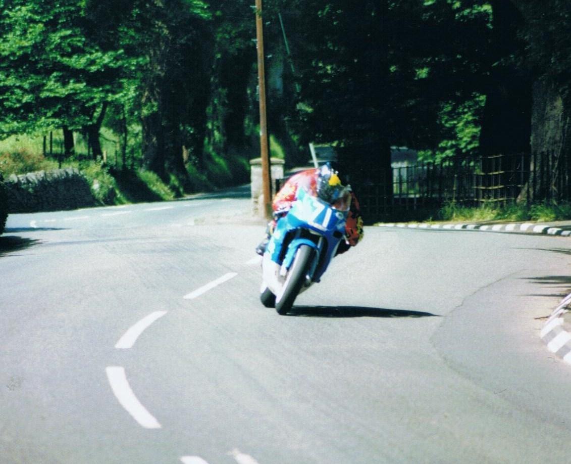 Bruce Anstey - Lightweight TT 2002