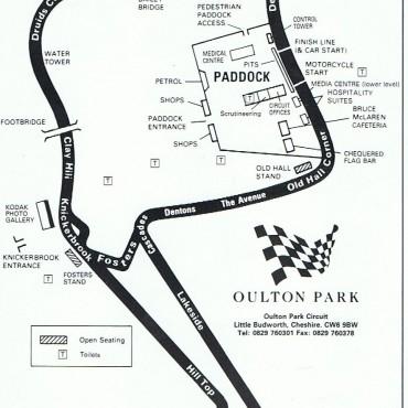 Oulton Park, England