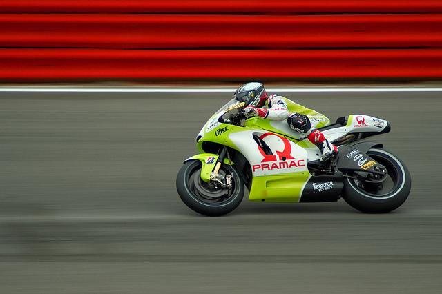 Mika Kallio Silverstone 2010. Credit: Flickr Jez Elliott