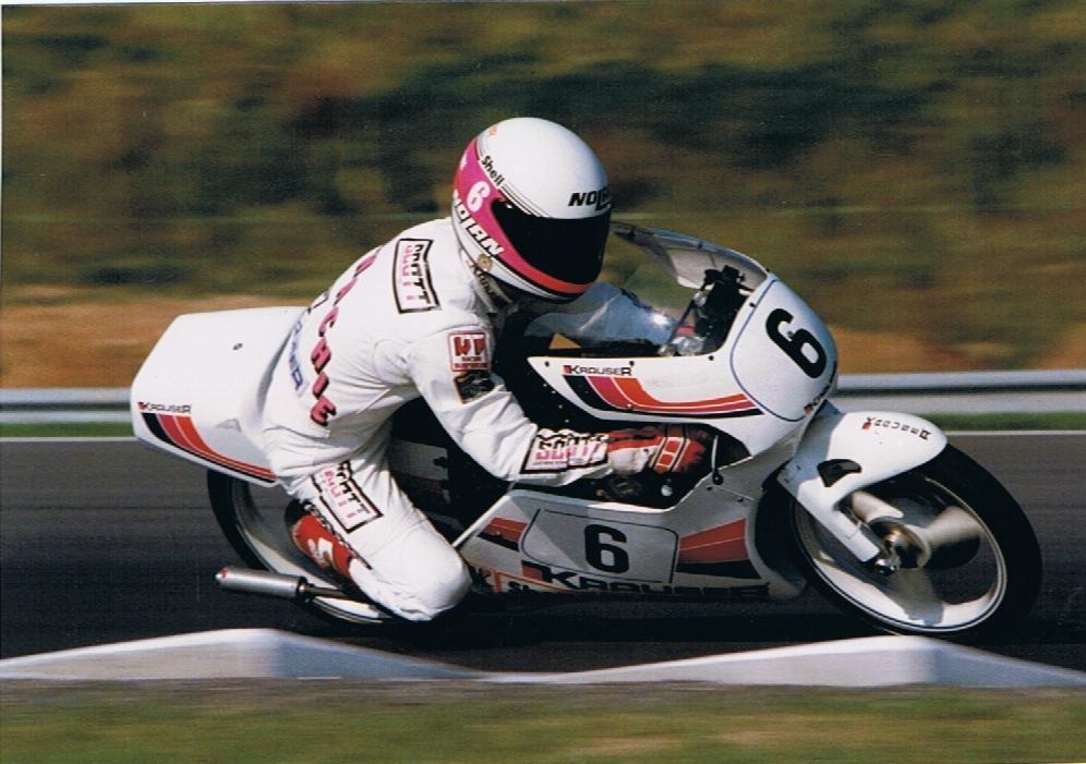 British motorcycle racers Ian McConnachie