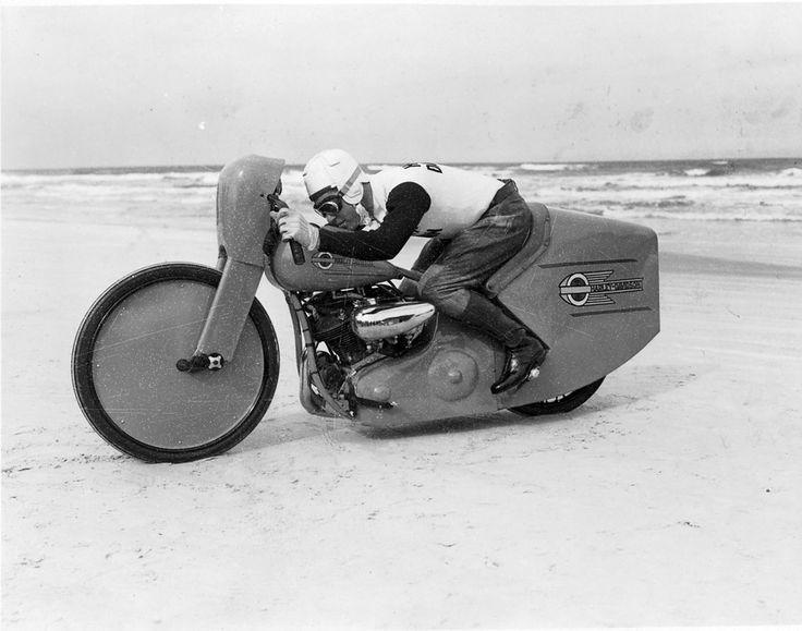 Joe Petrali 1937
