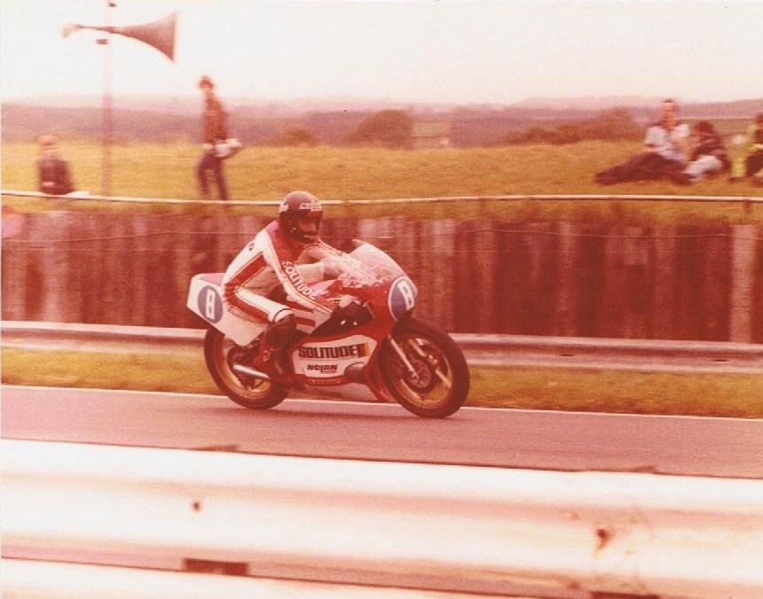 Jon Ekerold - Silverstone - 1980