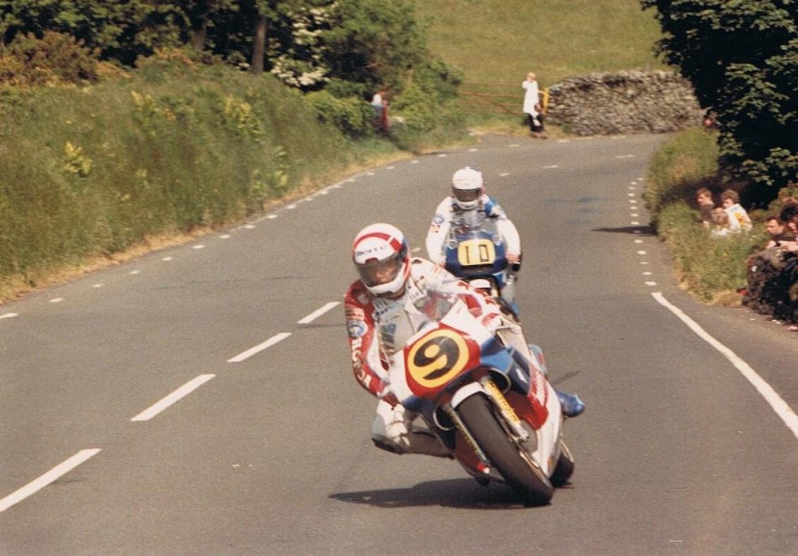 British Motorcycle Racers Roger Burnett