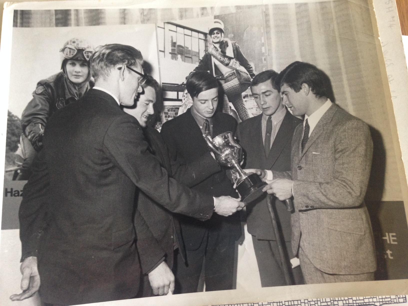 John Blanchard meeting Agostini