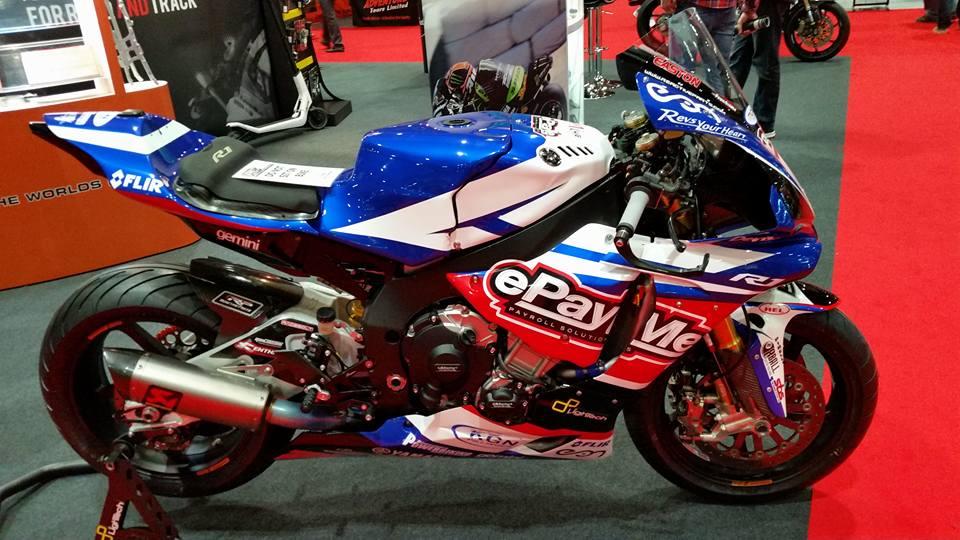 THM ePayMe Yamaha bike