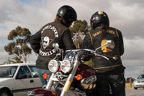 Hells Angels credit Flickr Roy Lister