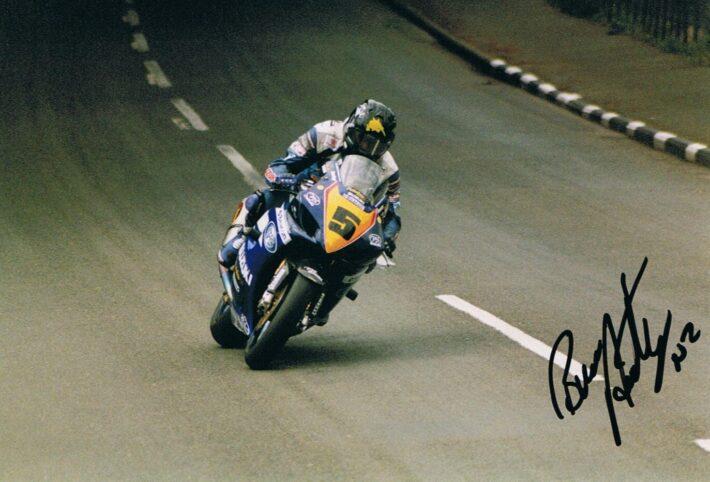 Bruce Anstey at TT 2004