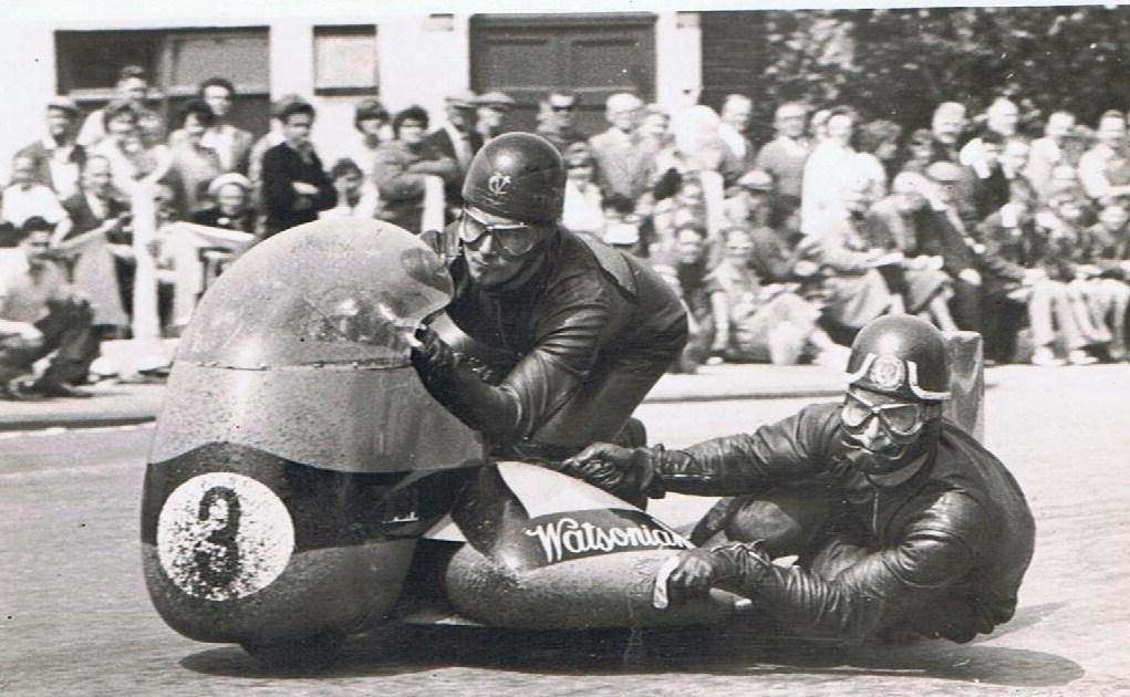 Chris Vincent - 1962 TT