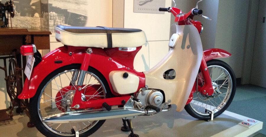 Honda Cub credit Iwao